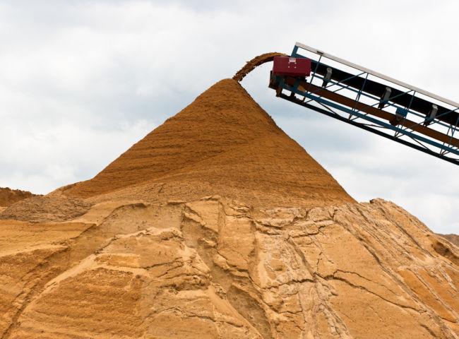 Как выбрать качественный песок