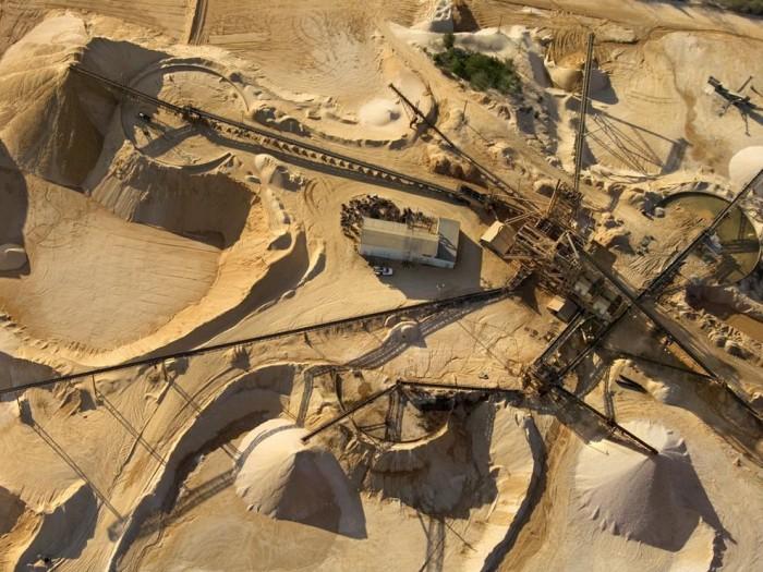 Технологии добычи песка