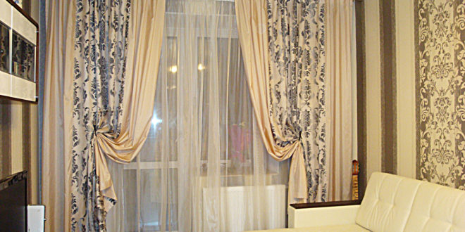 шторы фото для гостиной
