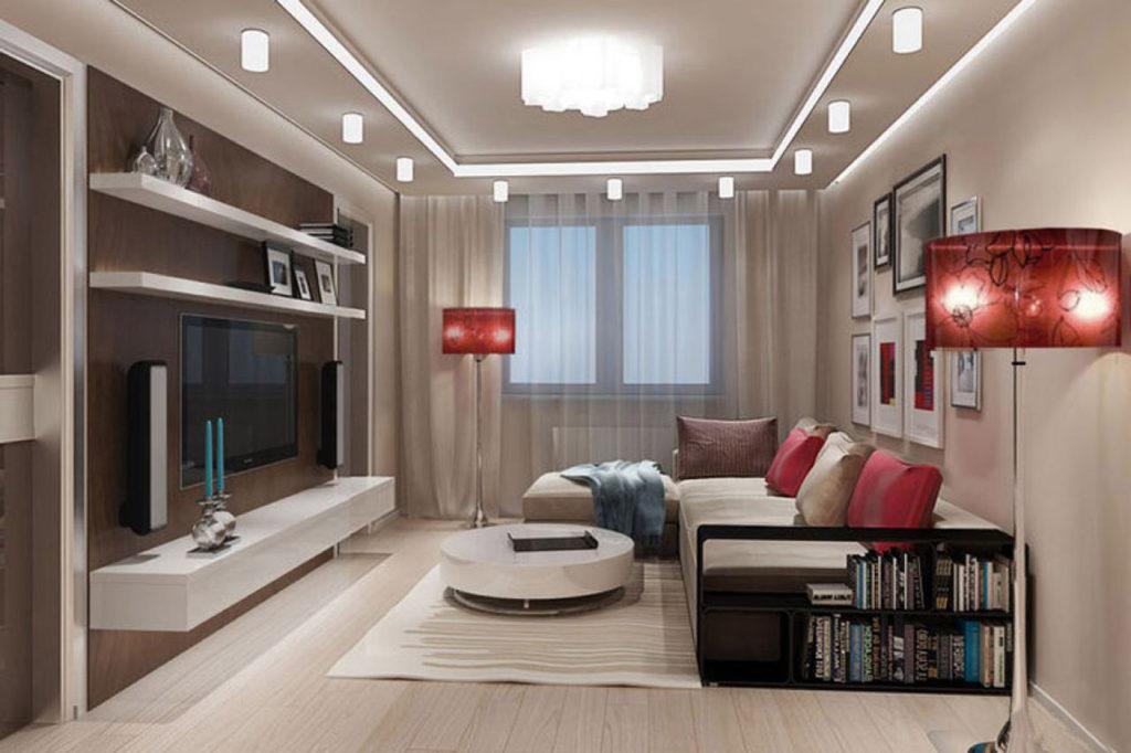 Комната 23 кв м дизайн