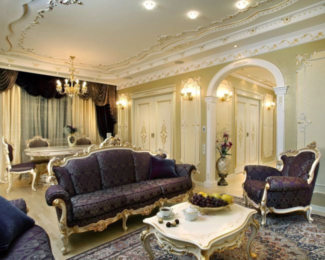 Baroque-Style-Living-room-interior-design
