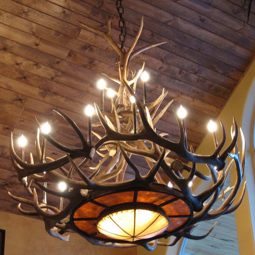 Дизайн люстры своими руками из дерева