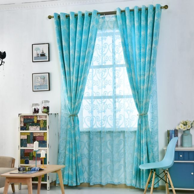 Floral-font-b-curtains-b-font-for-living-room-window-font-b-blue-b-font-black