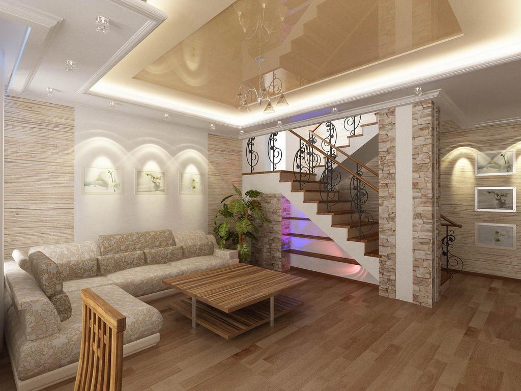 Как сделать дизайн в частном доме 839