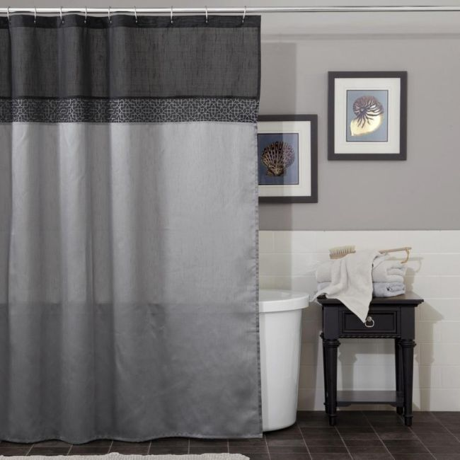 gray-shower-curtains