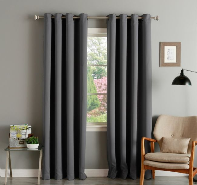 long-grey-blackout-curtains-bed-bath-beyond-for-french-window-set-beside-modern-brown-armchair-and-glass-end-table-interior-1140x1069