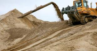 Как добывается песок