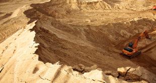 Как добывают песок в карьерах 5