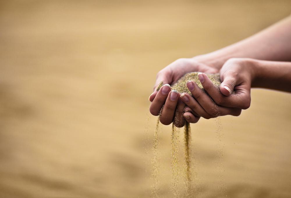 Лечение песком  2