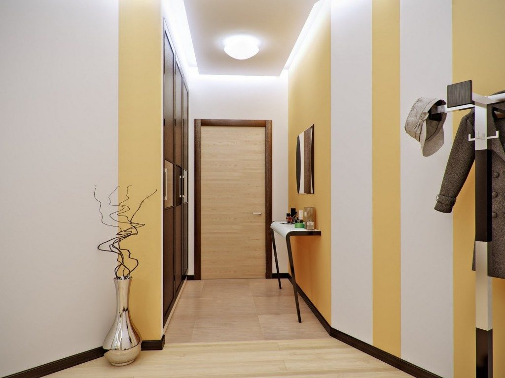 Дизайн коридора по проще