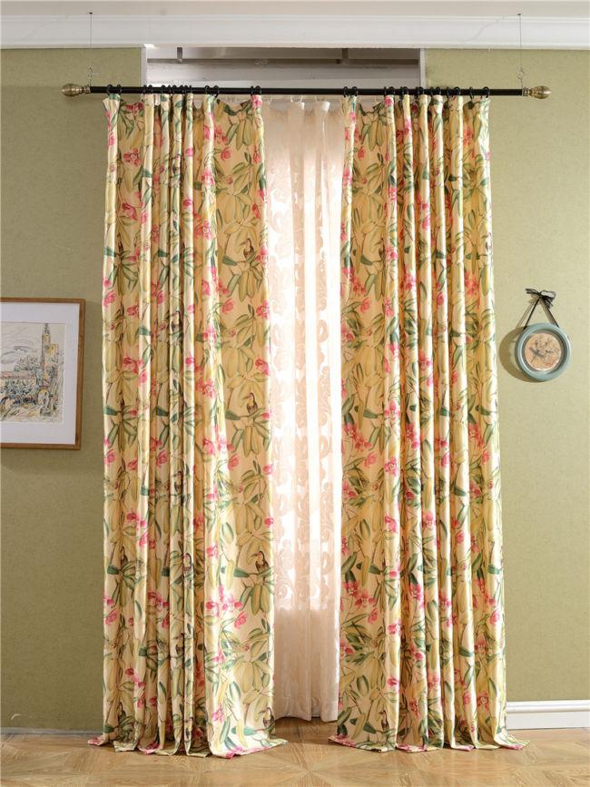 Классический-Американский-стиль-кантри-печатные-шторы-на-окне-ретро-стиль-дизайна-ткани-шторы-для-гостиной