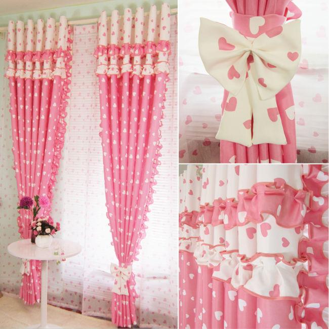 Розовый-blackout-волан-сращивания-шторы-для-детской-гостиной-тюль-шторы-для-девочек-спальня-подушки-окон-0621