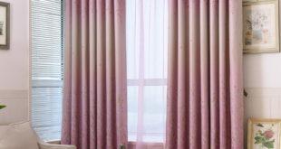 Сельский-Маленький-Цветочный-Листья-Дизайнерские-Шторы-Для-Гостиной-Спальня-Кухня-Драпировка-Занавес-Окна-Синий-Розовый-Cortinas