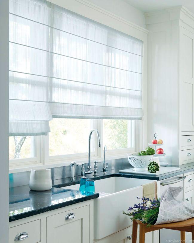 рулонные-шторы-в-кухне