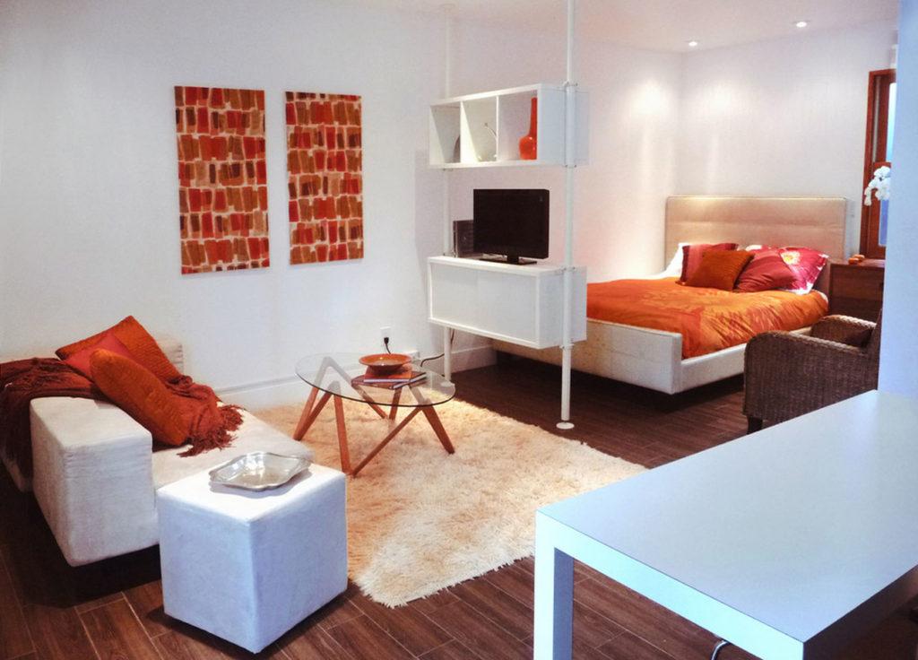 Как сделать еще одну комнату в однокомнатной квартире с фото