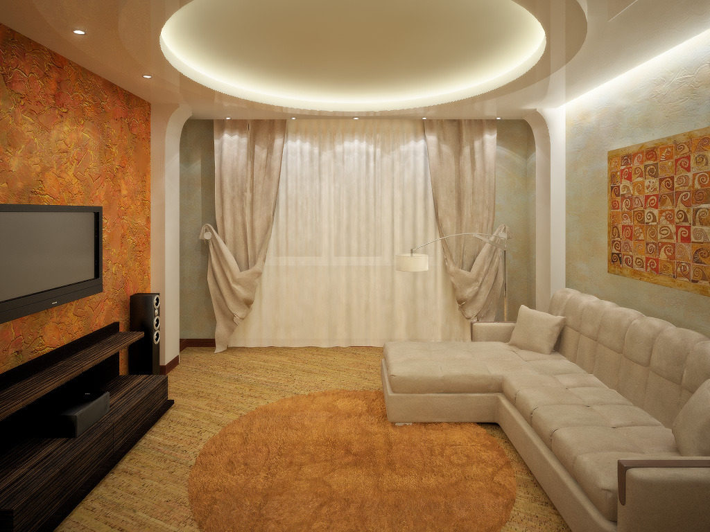 Дизайн и интерьер для зала