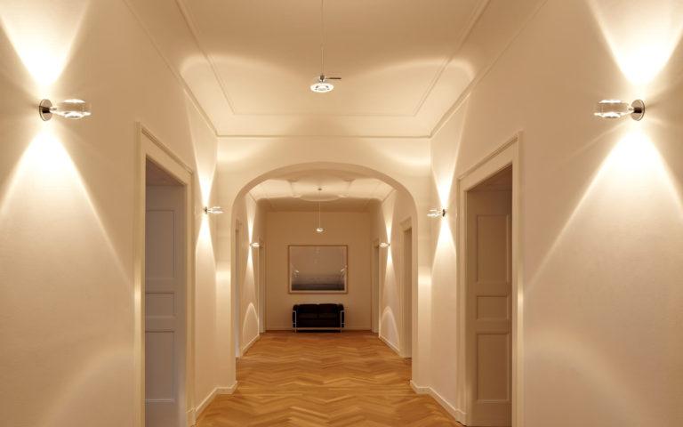 Как сделать освещение в коридоре