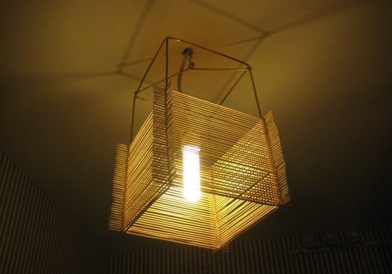 Как сделать светильники потолочные своими руками