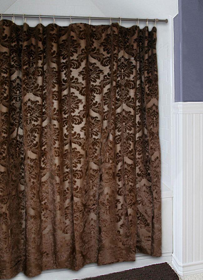Brown-Shower-Curtain-Pattern