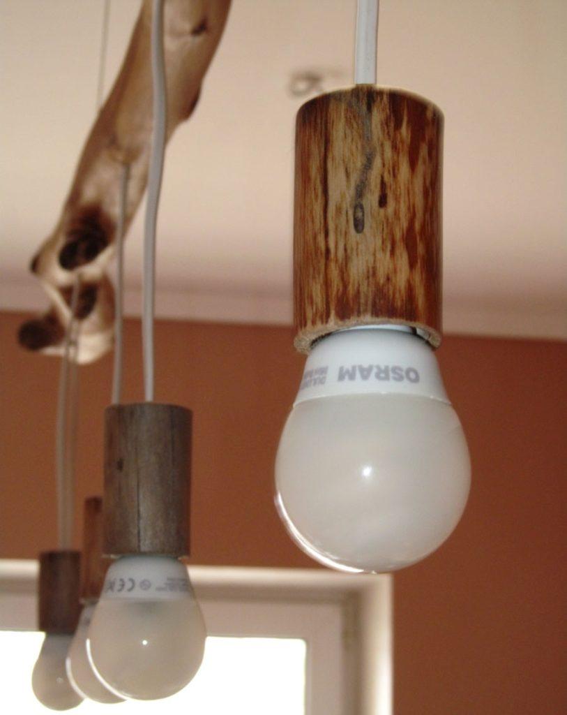 Своими руками деревянные светильники для дома
