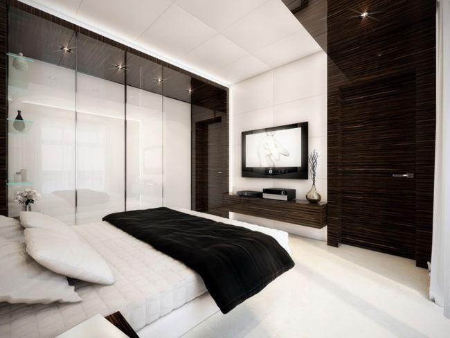 Plush-Black-White-Interior-Design-Inspiration-For-Comfortable-Black-And-White-Bedroom-Design-Ideas-