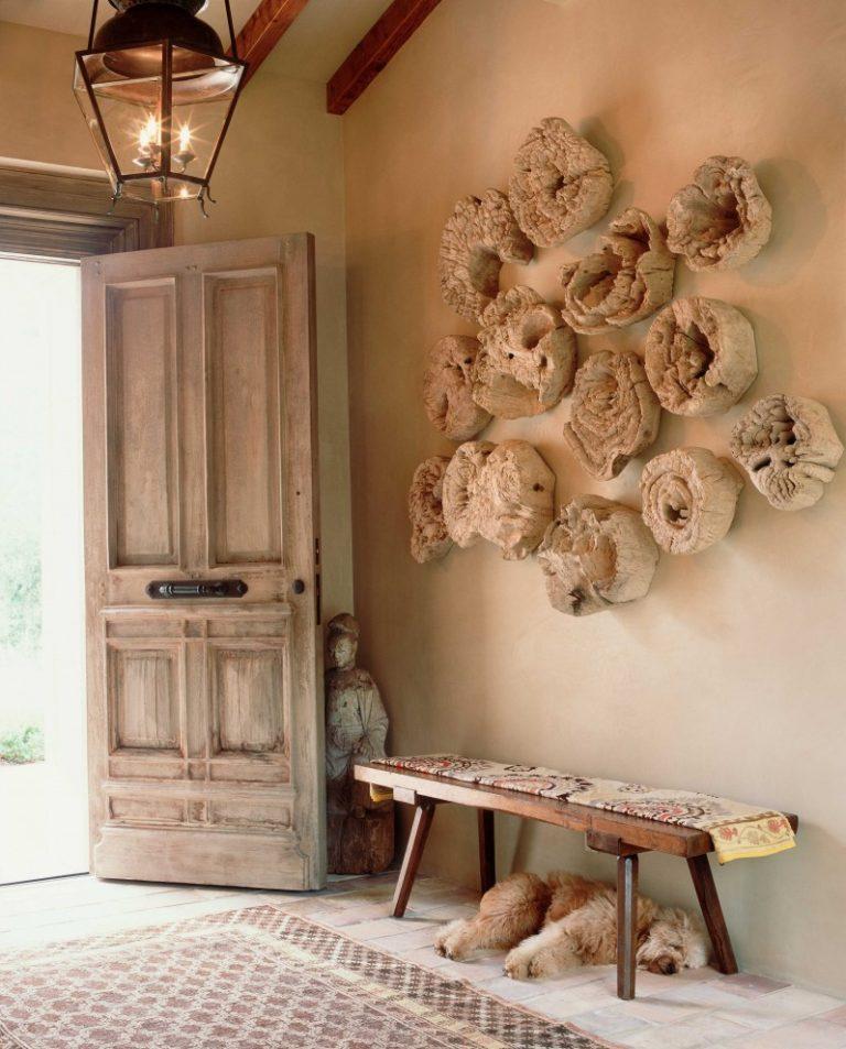 Декор стен своими руками в стиле прованс