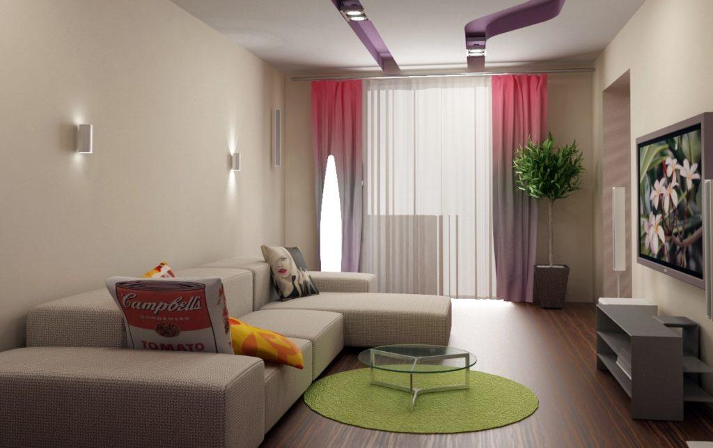 Гостиная 12 м2 дизайн