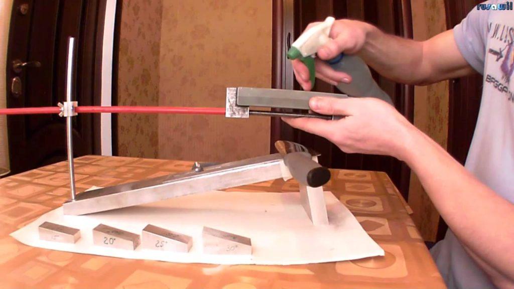 Приспособление для заточке ножей своими руками