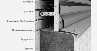 Монтаж металлического сайдинга