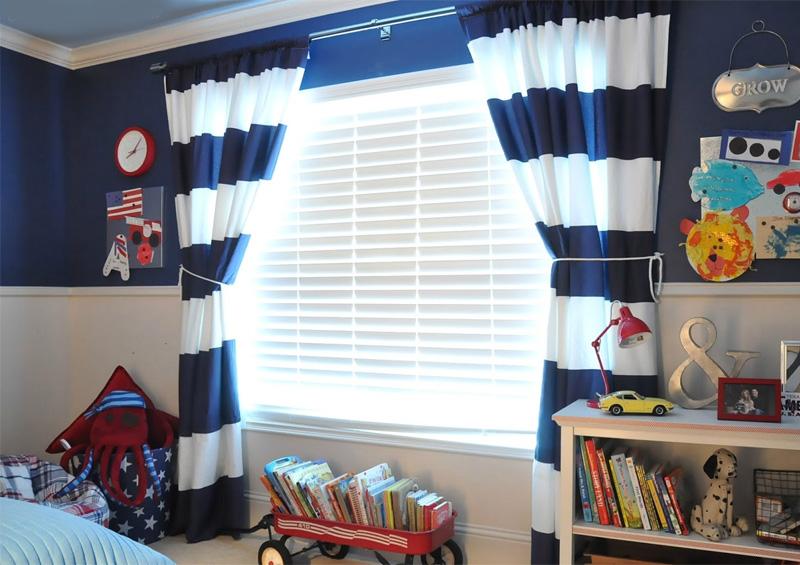 шторы-для-мальчика-в-детскую-комнаты